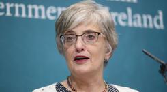 Children's minister Katherine Zappone said Ireland is set to receive an award at New York's World Pride festival (Niall Carson/PA)
