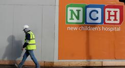 The cost of building the new national children's hospital in Dublin increased by 450 million euros, health chiefs said (Brian Lawless/PA)
