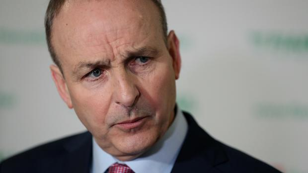 Fianna Fail leader Micheal Martin made the comments during leaders' questions in the Dail (PA)
