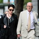 Ana Kriegel's parents, Geraldine and Patrick Kriegel arriving at the Criminal Courts of Justice (Brian Lawless/PA)