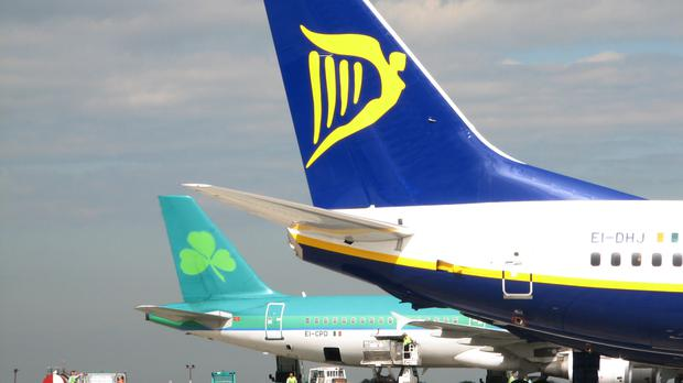 Jet fuel is currently exempt from Vat in Ireland and other EU countries, a major tax break for the region's airlines, including Ryanair and Aer Lingus. Photo: PA
