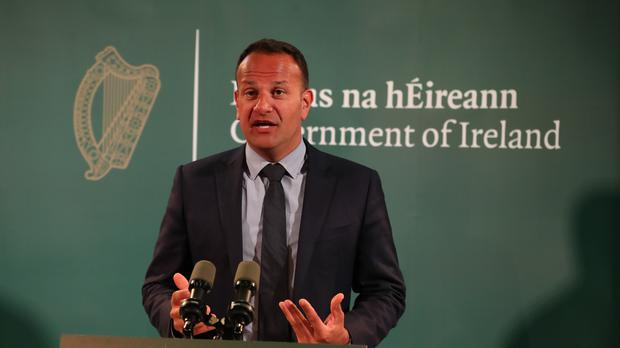 Taoiseach Leo Varadkar has said the government is seeking clarification from Eir over its claims it can deliver the National Broadband Plan for less than 1 billion euro (Liam McBurney/PA Wire)