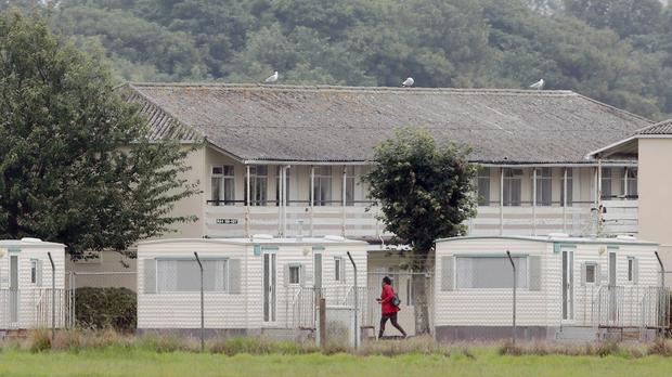 The Mosney Direct Provision centre in Co Meath (Niall Carson/PA)