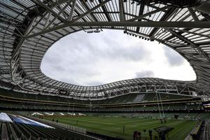 The Aviva Stadium is scheduled to host four Euro games