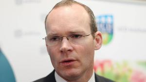 Simon Coveney said the safety of Irish Defence Forces is his priority