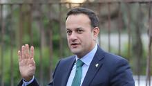 Varadkar said the Government was performing well (PA)