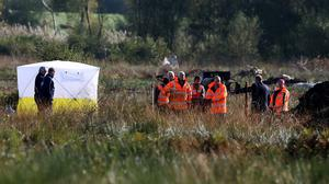File photo: The remains of Brendan Megraw were discovered by a drainage ditch in the middle of Oristown bog