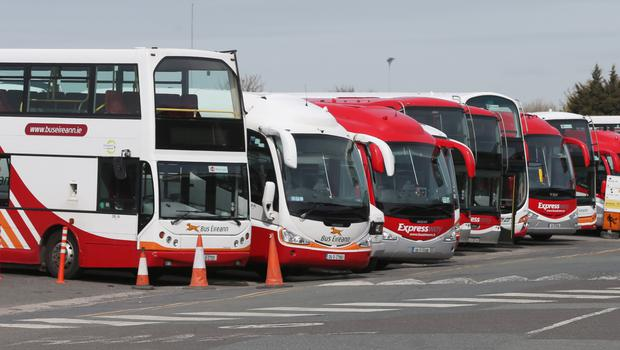 An industrial relations troubleshooting body had been working behind the scenes in a bid to avert the all-out strike at Bus Éireann. (Stock picture)