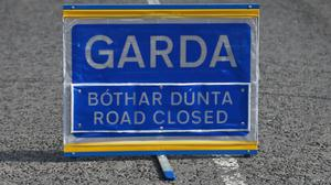The road has been closed for a forensic examination by Garda (Niall Carson/PA)