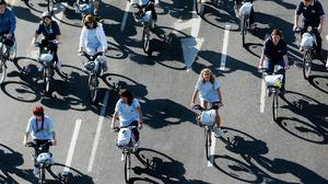 Better public transport, city bikes schemes and car sharing are all contributing to changing patterns of travel for work and leisure
