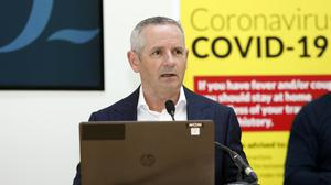 HSE chief Paul Reid said just 10 Covid-19 patients are in hospital in Ireland (Leon Farrell/Photocall Ireland/PA)