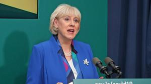 Minister for Social Protection, Community and Rural Development and the Islands, Heather Humphreys, said it was particularly encouraging to see the downward trend (Julien Behal/PA)