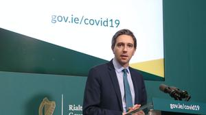 Health Minister Simon Harris urged people not to be tempted outside over the Easter weekend (Sasko Lazarov/RollingNews.ie/PA)