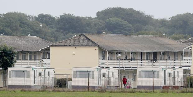 Mosney Direct Provision centre in Co Meath (Niall Carson/PA)