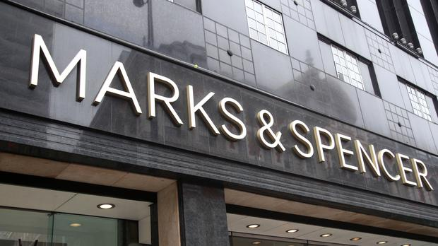 Marks and Spencer. (stock photo)