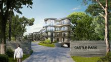 Approved: A rendering of the proposed Castle Park development in Dalkey