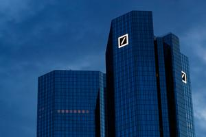 Pay back: Deutsche Bank says several corporate clients have started repaying credit. Photo: Alex Kraus/Bloomberg