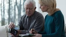 Worries: Around 30,000 Irish people will turn 65 this year, a number of them will have seen their pension value drop by a fifth