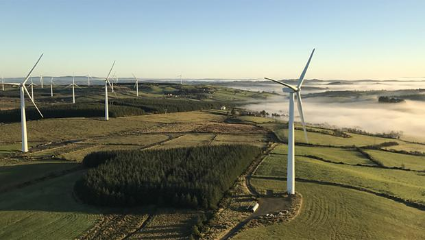 Renewables: Galetech is a part owner of the windfarms