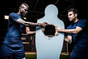Cesc Fabregas and Mario Balotelli for PUMA EvoPower