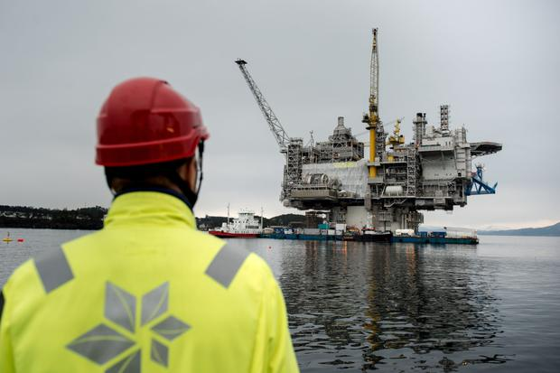 Norway's largest company has been stress-testing its portfolio of oil and gas assets against global energy scenarios of the future which have been set out by the International Energy Agency. Photo: Bloomberg
