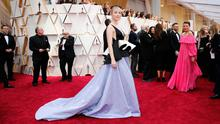 On trend: Irish actress Saoirse Ronan wore a Gucci gown to last week's Oscars