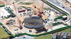 Uncertainty: Ward & Burke has worked on projects like the Anchorsholme Park storm water pumping station in the UK