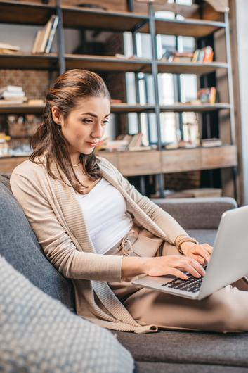 Covid-19 has driven a rise in home working. Stock image