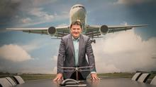 Joe Gilmore, managing director of Ireland West Airport, which handled 750,000 passengers last year, up 2pc on 2015