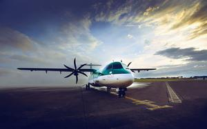 Stobart Air operates the Aer Lingus Regional service