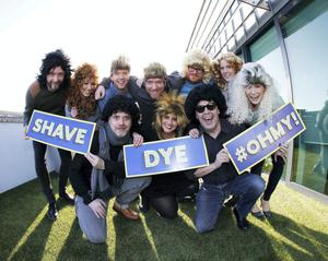 Today FM's Shave or Dye is underway.