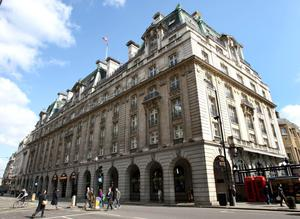 Famous hotel: The London Ritz Hotel was bought by twins Frederick and David Barclay in 1995 and is now the subject of competing bids