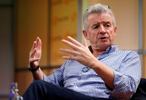 Talks: Ryanair CEO Michael O'Leary is in discussions with Boeing about a further Max order