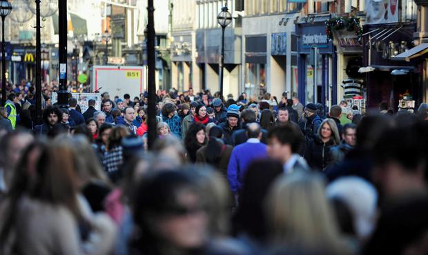 Many smaller communities have bemoaned the fact that their once vibrant main streets are being taken over by just one type of business. Stock Image