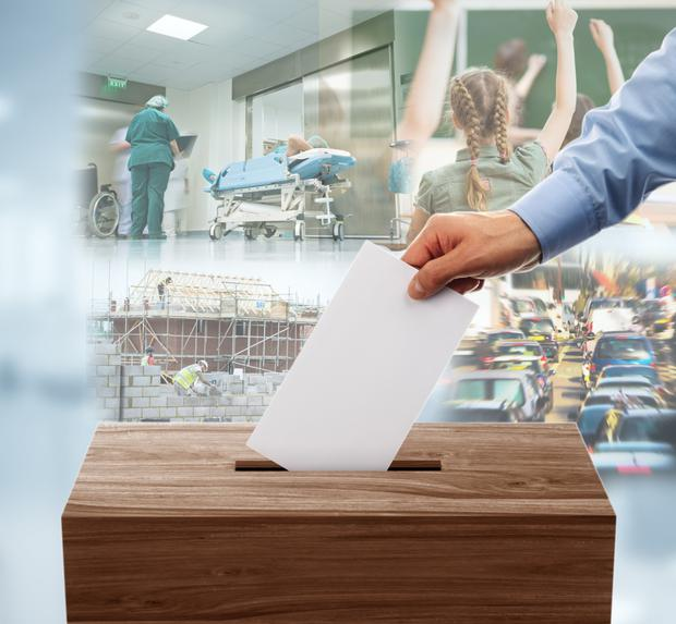 Campaign begins: Heath, education, housing and transport will all be considerations for voters in the upcoming general election