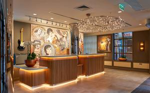Gig economy: Reception area of the new Hard Rock Hotel in Dublin