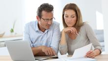 Many couples are examining their finances during the pandemic (stock image)