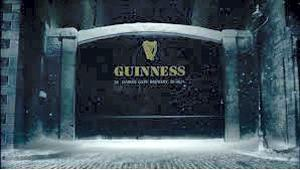 A still from the Guinness TV ad.