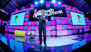 WEB WIZARD: Event organiser Paddy Cosgrave at the Web Summit