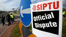 Trade union Siptu announced health service support staff voted by 94pc in favour of taking strike action. Photo: Gerry Mooney