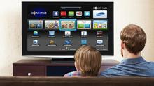 A Samsung smart TV - WikiLeaks said the CIA has come up with a way to hack the TVs