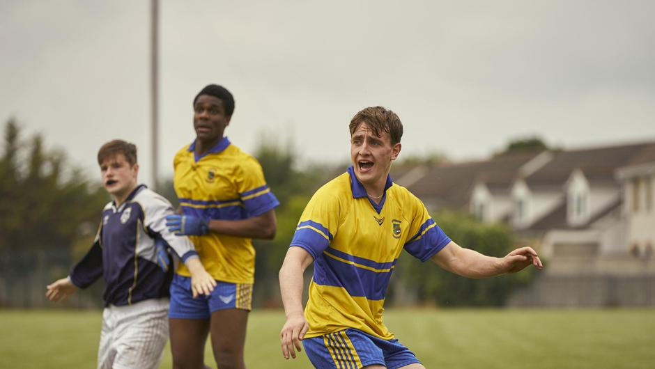Short orders: Actor Paul Mescal wore the O'Neill's shorts on screen and in public. Photo: Enda Bowe