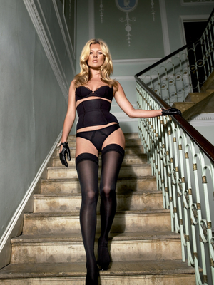 Kate Moss campaign for Agent Provocateur in 2006
