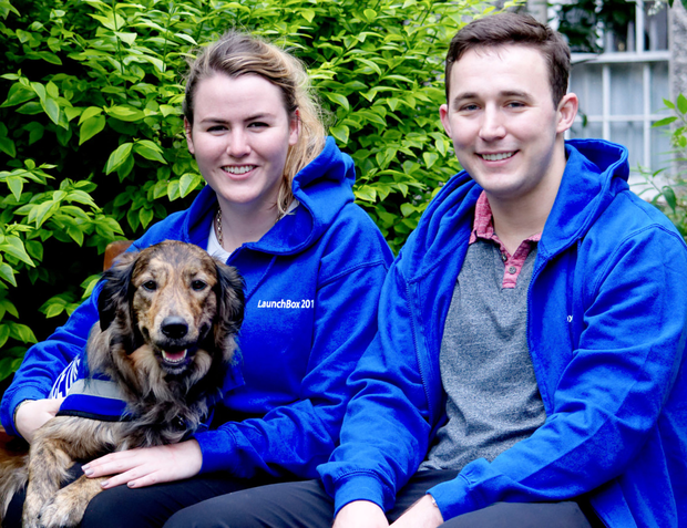 KeepAppy co-founders Aimée-Louise Carton and Will Ben Sims