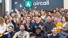 Investment: Draper Esprit recently participated in a €65m funding round for French startup Aircall