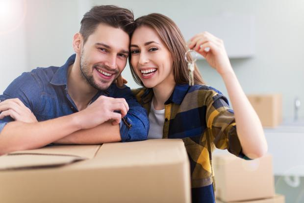 'Those with the best chance of getting a mortgage today are those whose job and income have not been hit by the pandemic.' (stock photo)