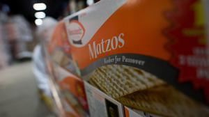 Unleavened bread called matzoh must be certified 'kosher for Passover' to be fit for consumption. Photo: Ron Antonelli/Bloomberg