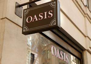 Liquidation: Oasis and Warehouse ran 13 stores and 29 concession stands