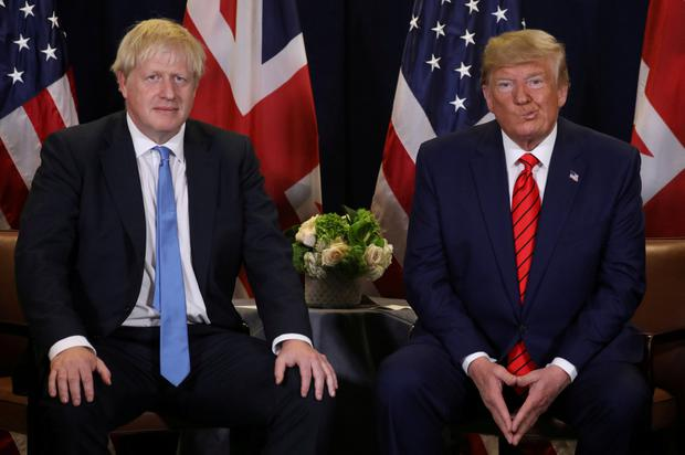 Key players: UK Prime Minister Boris Johnson and US President Donald Trump could shape the global economy in 2020. Photo: REUTERS