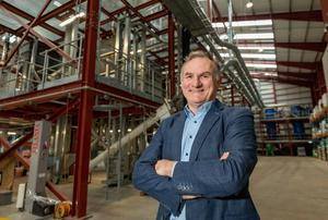 Arvum MD Roy Power, at the group's plant in Belview, Co Kilkenny. Photo: Dylan Vaughan